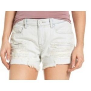Blanknyc embroidered cactus Tomboy Shorts A0177
